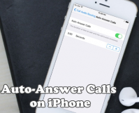 Auto Answer Calls on iPhone