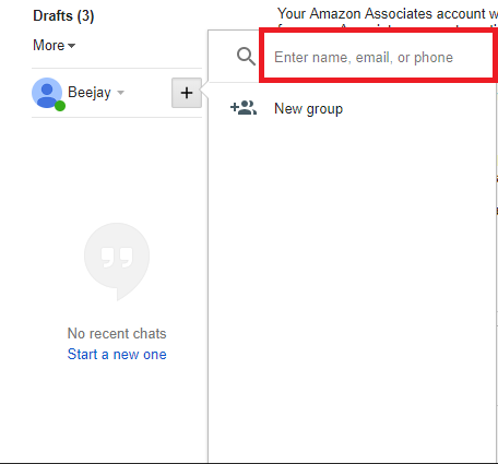 CHAT IN GMAIL