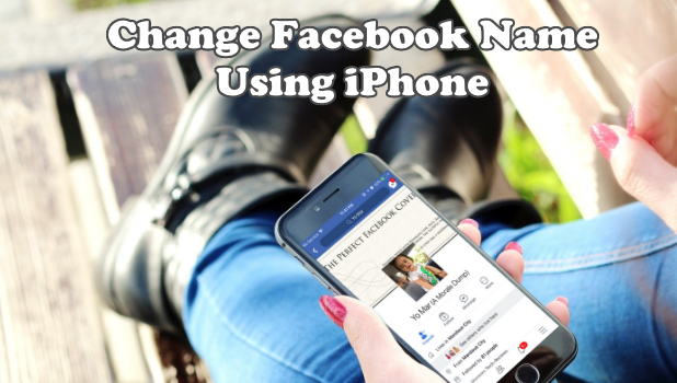 Change Facebook Name Using iPhone