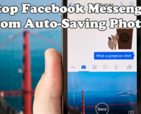 Disable Facebook Messenger from Auto-Saving Photos