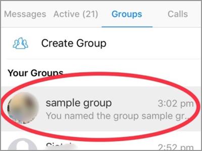 Facebook Messenger Choose Group Name