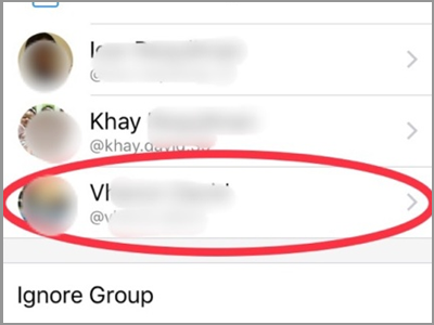 Facebook Messenger Group Chat Members Select