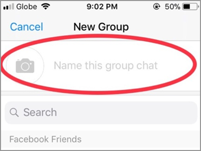 how to start a group chat on messenger
