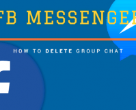 How to Delete a Facebook Group Chat