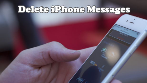 How to use Delete iPhone Messages
