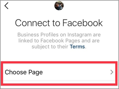 Instagram Account Settings Switch to Business Profile Connect to Facebook