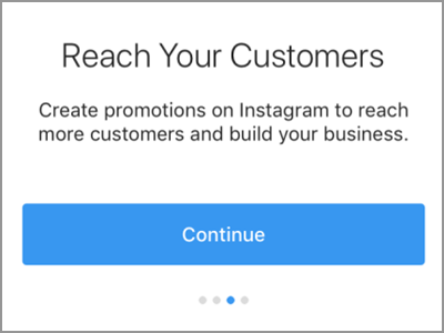 Instagram Account Settings Switch to Business Profile Continue2