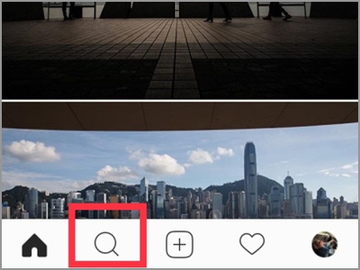 Instagram Search Icon