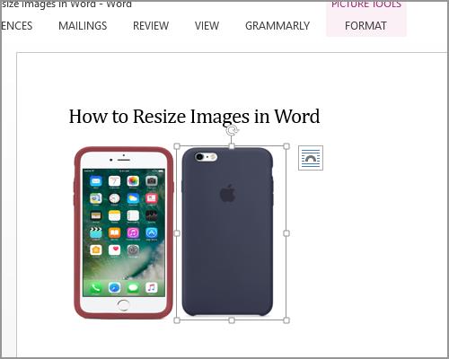 Resize Image Select new image Same Size Done