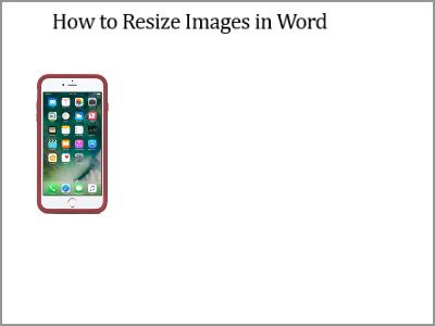 Resize Word Image Resized