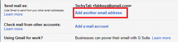 how to change your email address name on gmail