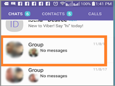 Select Viber Group