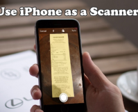 Use iPhone as a Scanner
