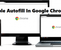 enable autofill in google chrome