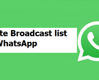 Create A Broadcast List On WhatsApp
