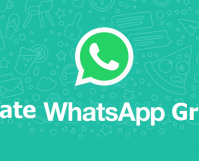create a group on whatsapp