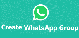 create a group on whatsapp