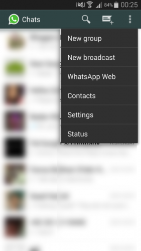 whatsapp web on iphone to android