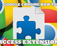 Google Chrome How to Access Extensions