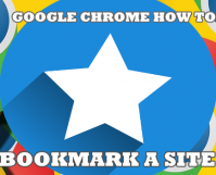 Google Chrome How to Bookmark a Site