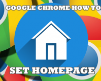 Google Chrome How to Set Home Page