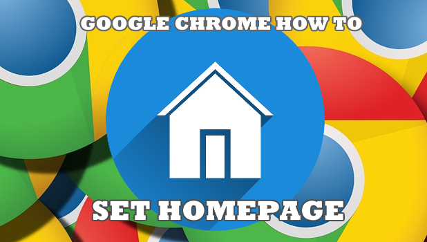 how to change the chrome homepage