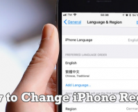 How to Change iPhone Region