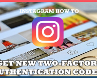 How to Get New Two-Factor Authentication Codes in Instagram