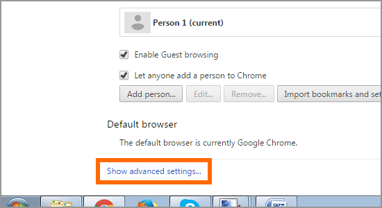 How to add trusted sites in Google Chrome 3