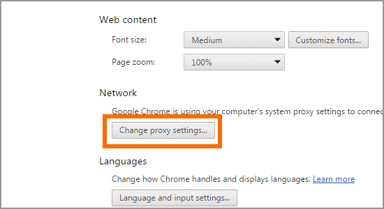 How to add trusted sites in Google Chrome 4