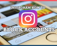 INSTAGRAM How to Block Accounts