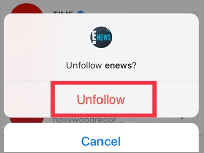Instagram Following Button confirmed