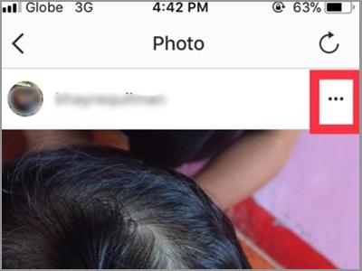 Instagram Posts More Option