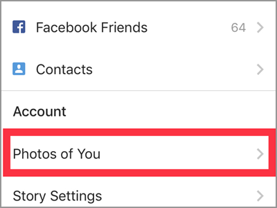 Instagram Profile Settings Photos of You