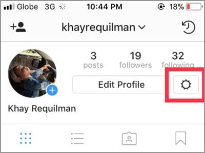 Instagram Profile Settings