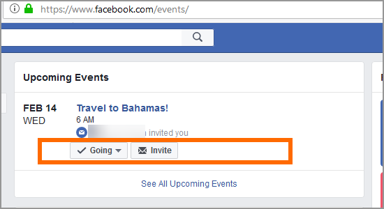 PC Facebook Home Events Respond Going