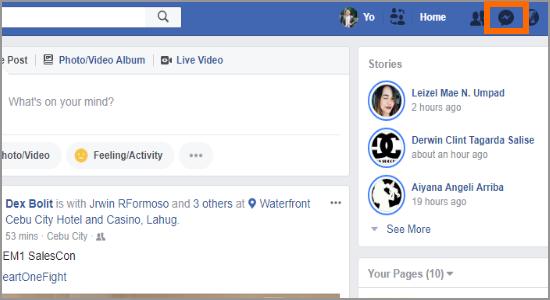 PC Facebook Messenger icon