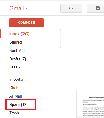 Delete All Spam Mails In Gmail
