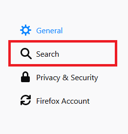 change firefox search engine