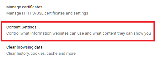 Enable Location Services on Google Chrome