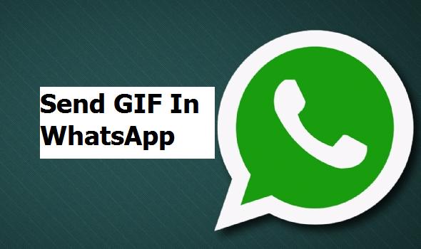 send gifs in whatsapp