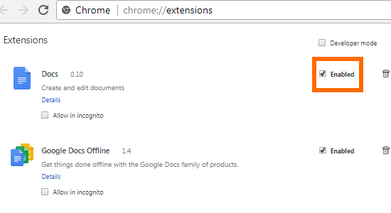 how to access extensions google chrome 4