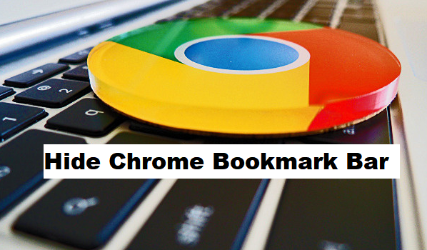 hide google chrome bookmark bar