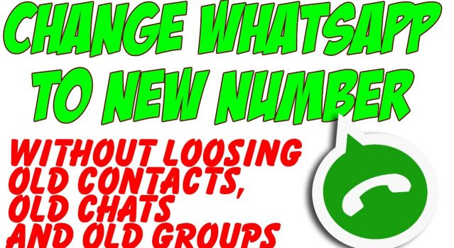 Know How to Change your mobile number on WhatsApp