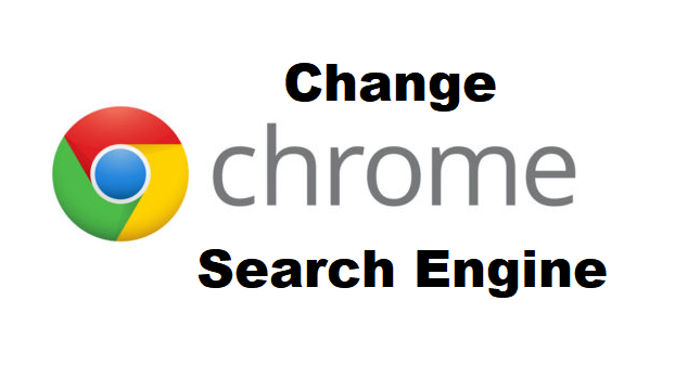 change google chrome search engine