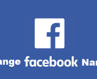 change facebook name