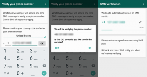 sms verification