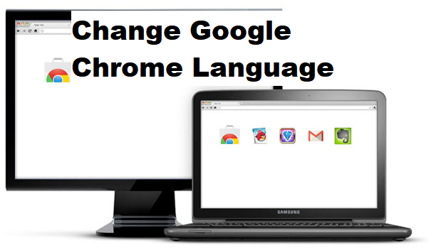 how to change lnguage on google chrome