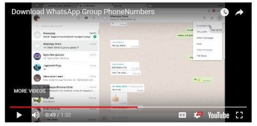 how to find lost contacts on whatsapp
