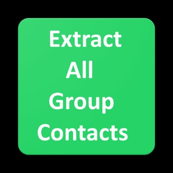 Find contact information of group participants on WhatsApp